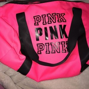 Victoria secret gym bag!